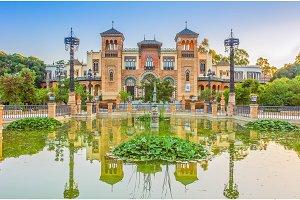 Mudejar pavilion, Seville, Andalucia