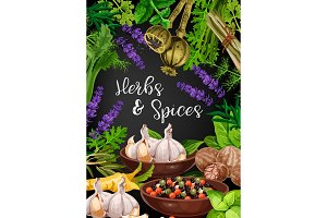 Herbs, spices and seasonings