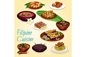 Filipino national cuisine