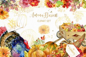 Thanksgiving autumn clipart