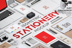 Iso. Stationery Mock Up Generator