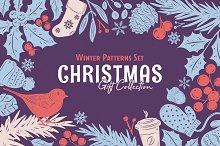 Christmas Gift: Vector Patterns Set