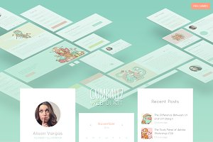 Gumballz Web UI Kit