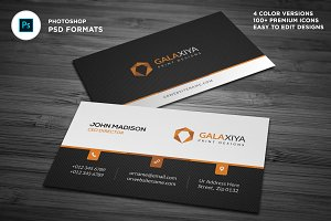 Creative Corporate Business Cards