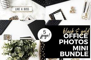 Mini Bundle Black & Gold Office
