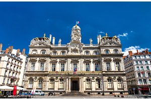 Lyon City Hall in France