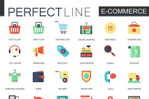 E-commerce, internet online shopping