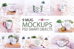 9 Mug Mockups