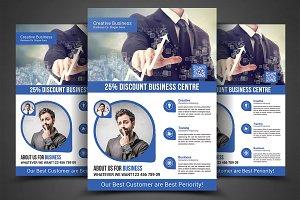 Business Planner Flyer Print Templat