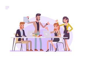 Business Meeting Brainstorming