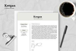 Keegan - Customizable Résumé