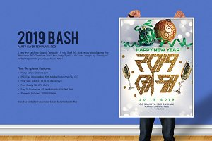 2019 Bash Party Flyer