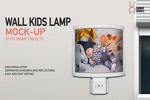 WALL KIDS LAMP MOCK-UP