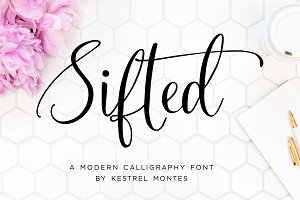 Sifted Wedding Font