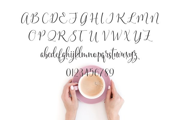 Best Sifted Wedding Font  Vector