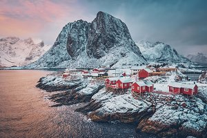 Hamnoy fishing village on Lofoten