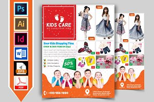 Kids Fashion Shop Flyer Vol-03