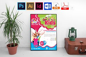Poster | Kids Fashion Shop Vol-02