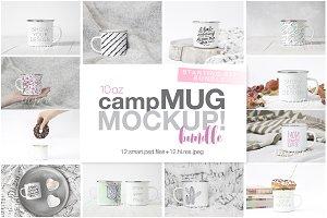 10oz Enamel Camp Mug Starting Bundle