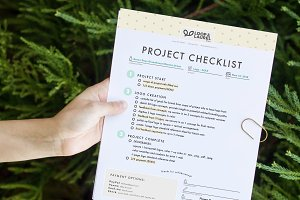 Project Checklist Template for .ai