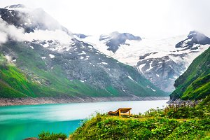 Solitude at high mountains