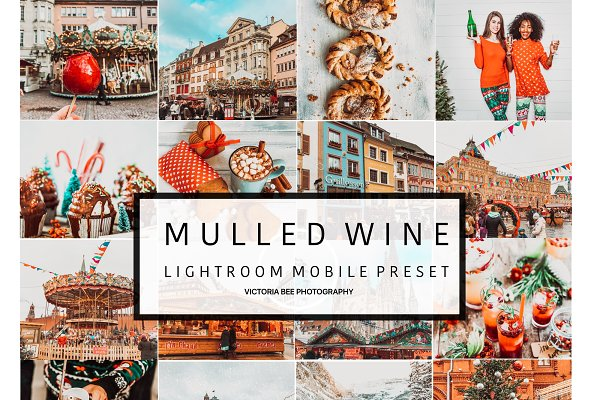 Mobile Lightroom Preset MULLED WINE…