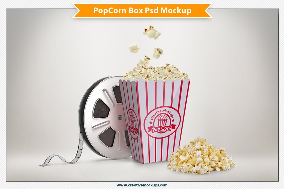 popcorn container template.html