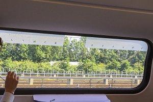 Silence in train