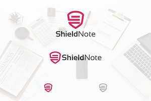 Document Shield Safe Protection Logo