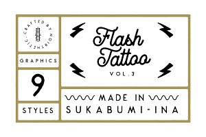 Flash Tattoo Vol.3