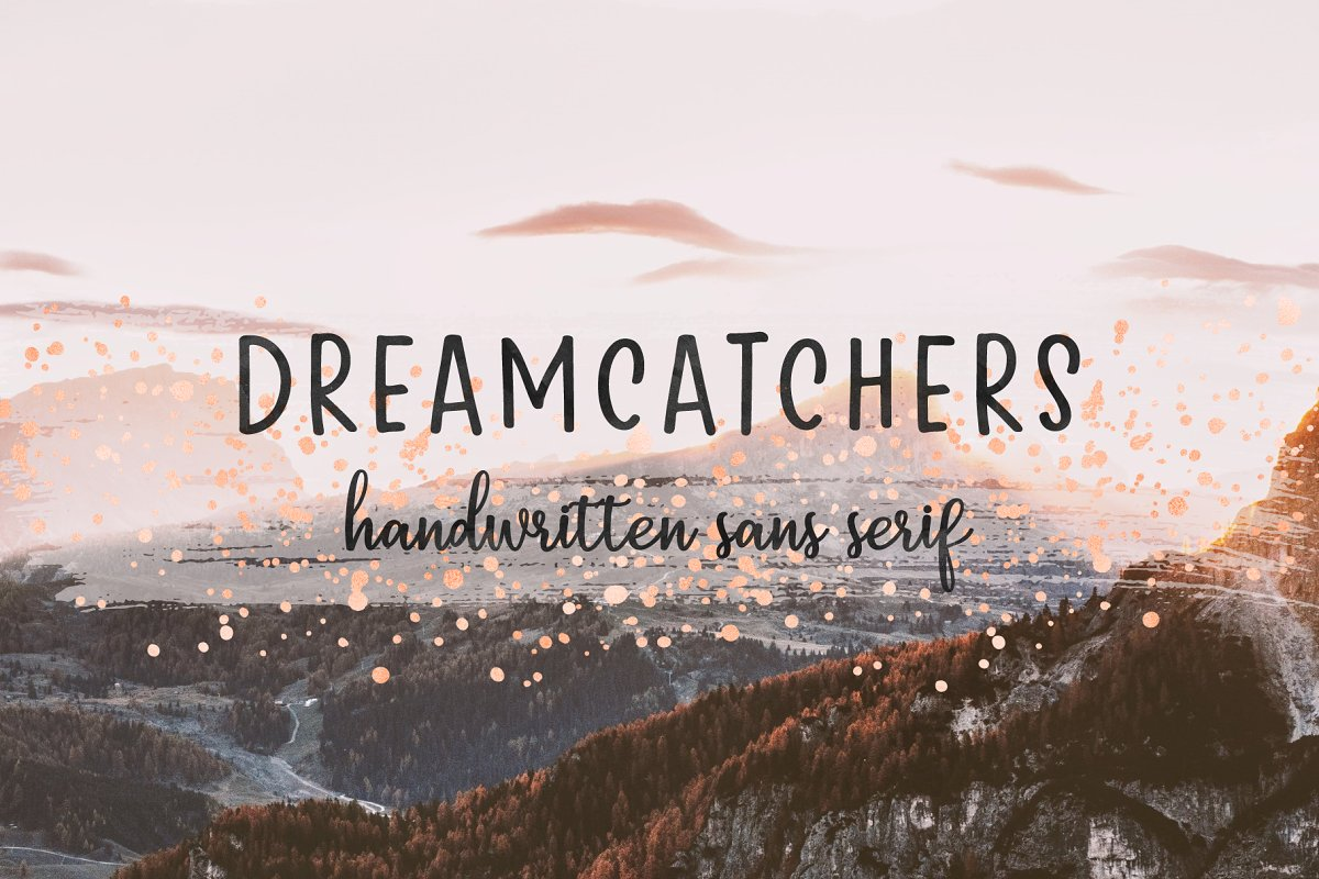 Dreamcatchers | Playful Sans Serif