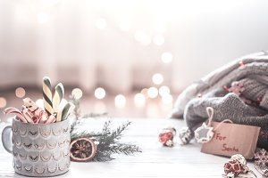 Christmas festive background