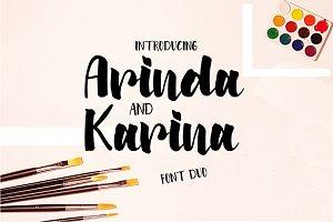 Arinda & Karina   Font Duo