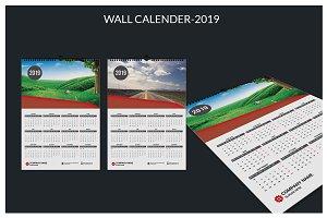 Wall Calendar-2019