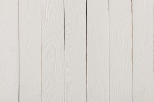 Empty white wooden texture backgroun