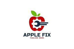 Apple Repair Logo Template