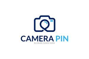 Camera Point Logo Template