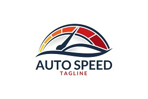 Auto Speed - Automotive Logo
