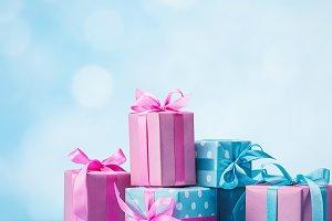 Stylish handmade gift box