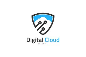 Digital Cloud Security Logo