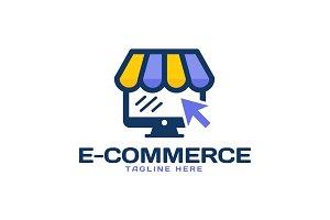 eCommerce Online Shop Logo Template