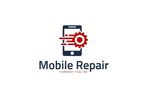 Quick Phone Repair Logo Template