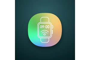 NFC smartwatch app icon