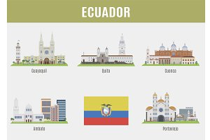 Cities in Ecuador