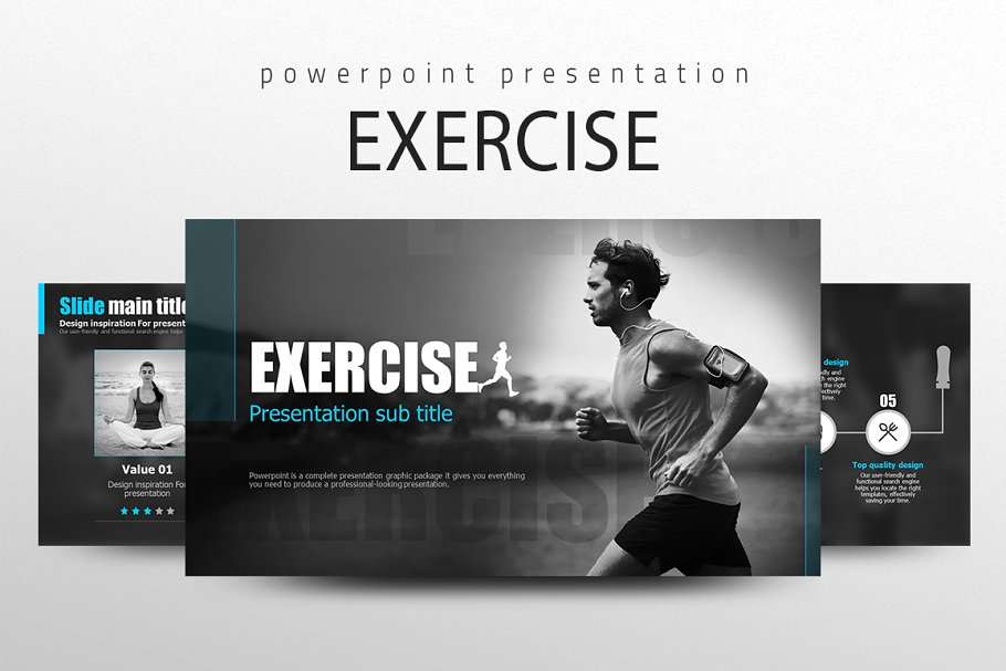 Sports Ppt Template Presentation Templates Creative Market