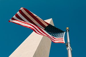 American Flag, Washington Monument