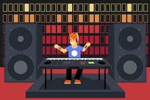 Modern Music Musician Synthesizer