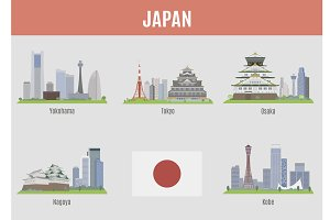 Cities in Japan