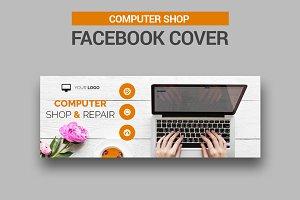 Computer Shop Facebook Cover