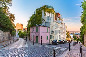 Montmartre in Paris, France